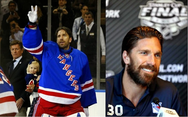 Henrik Lundqvist grows a playoff beard