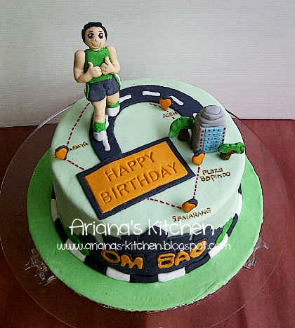 Birthday Cake Designs For Runners : Running Birthday Cake Cake Ideas and Designs