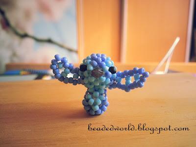 stitch z koralików