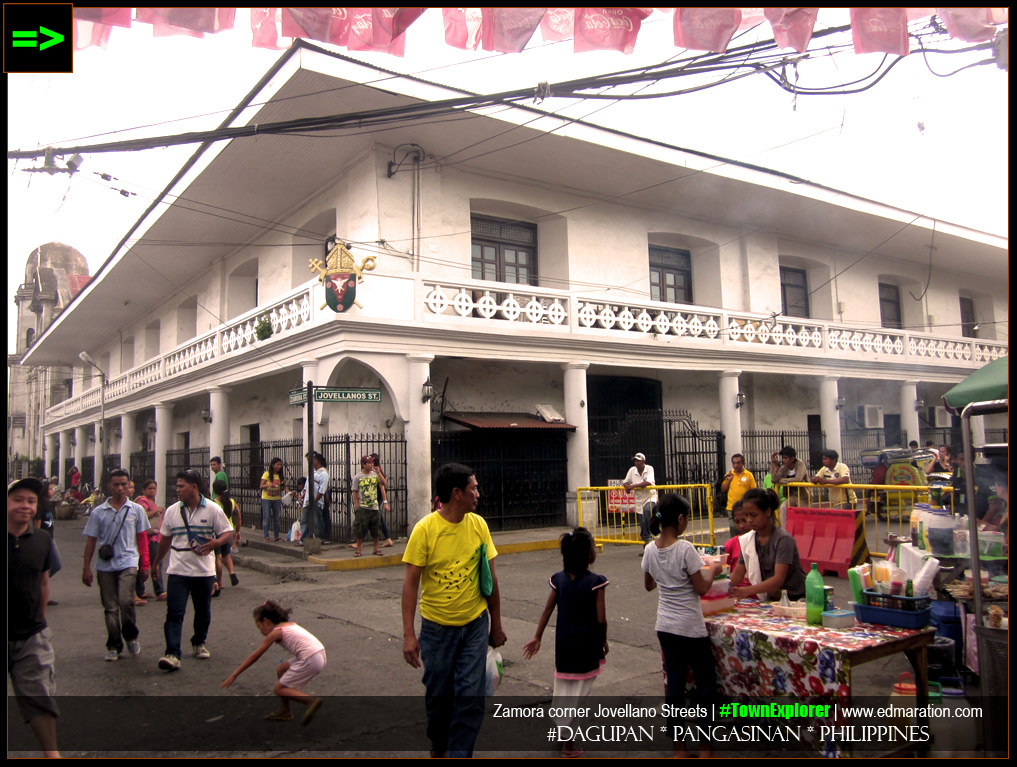 Jovellanos and Zamora Streets in Dagupan