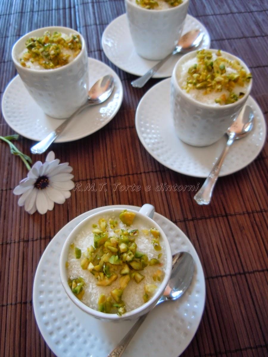 Mahalabiya - Crema di latte egiziana