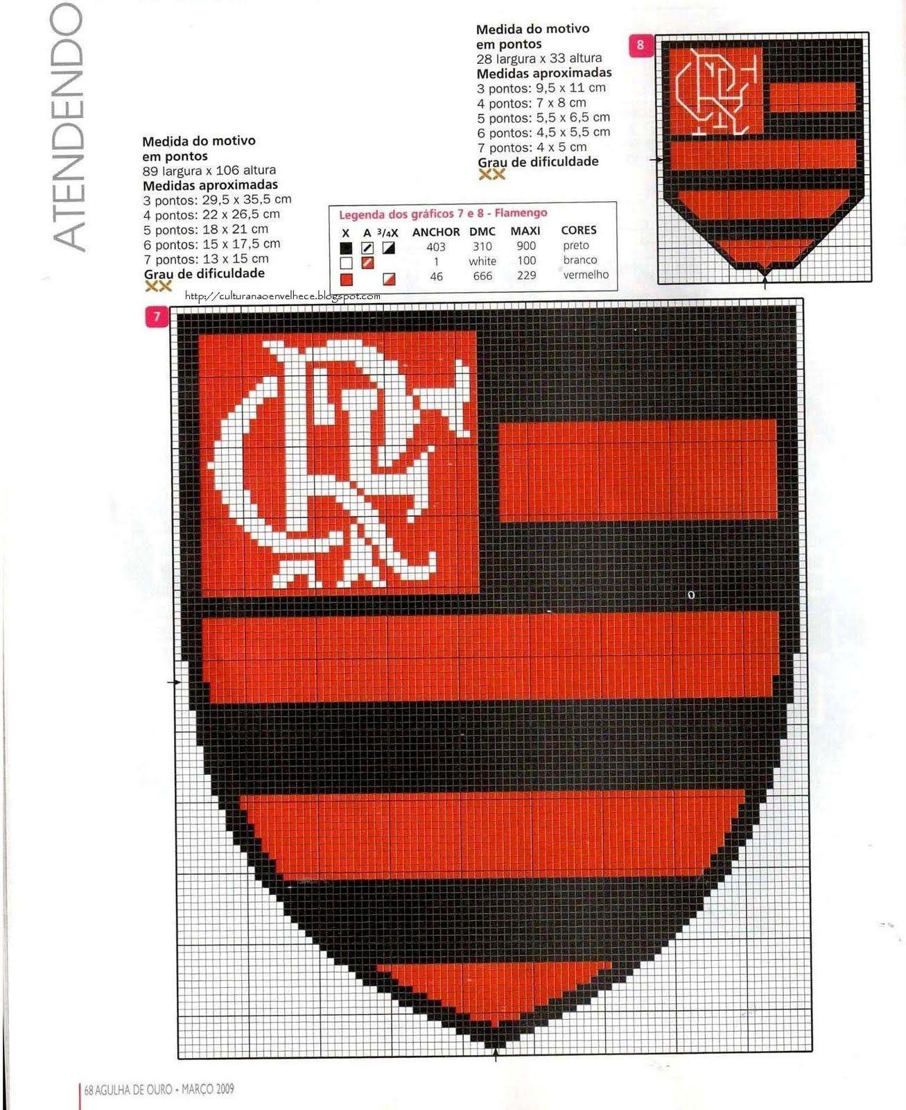 Do Seu Time De Coracao Abaixo O Escudo Do Flamengo