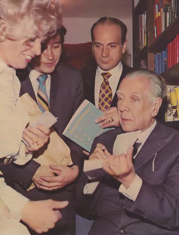 Borges Todo El A O Jorge Luis Borges Elogio De La Sombra