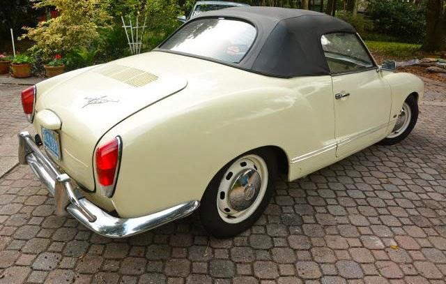 Karmann Ghia Convertible 1970 Buy Classic Volks