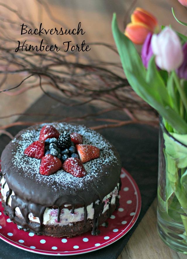 Himbeer Schokoladen Torte backen - Frühstück bei Emma