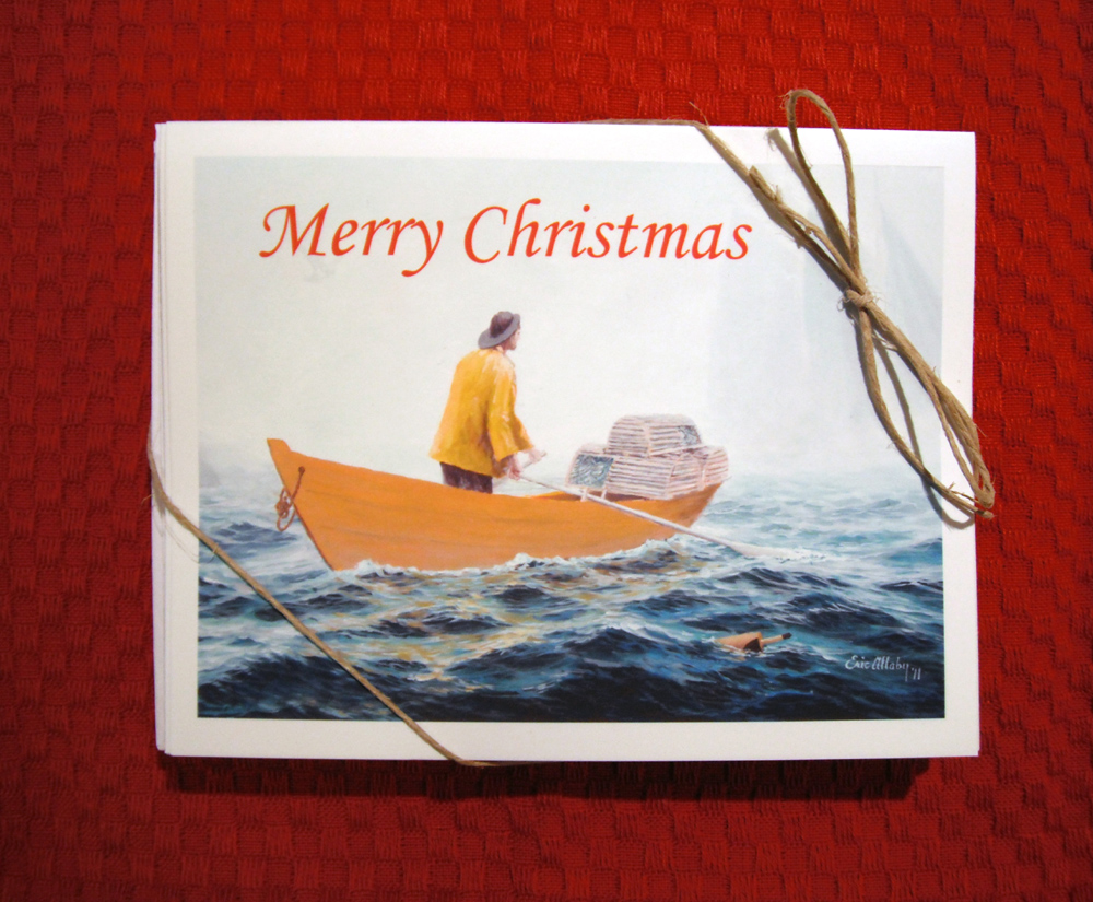From Our Cove: Dory Fishing Christmas Cards