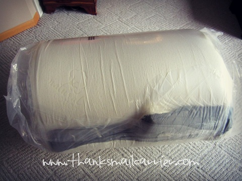memory foam mattress roll