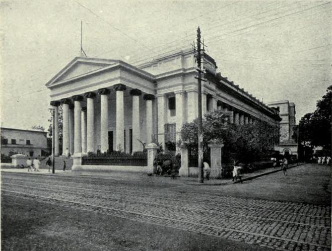 Senate Hall, Calcutta, during Kishori Mohan Bandyopadhyay's time