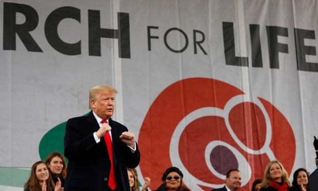 Pres. Trump prestigia a Marcha pro Vida 2020