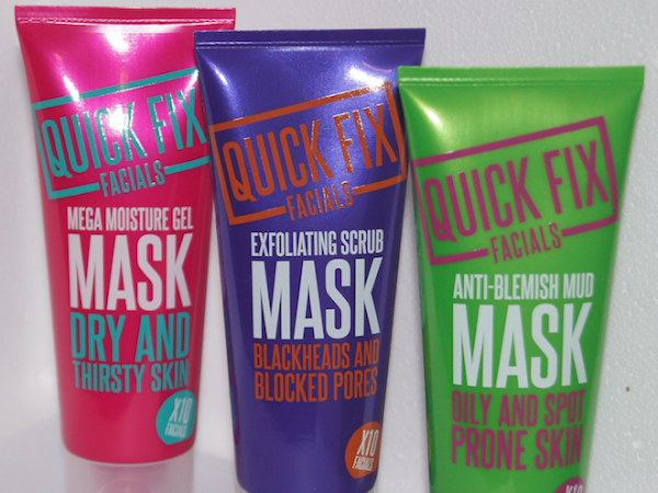 Quick Fix Facial Masks REVIEW