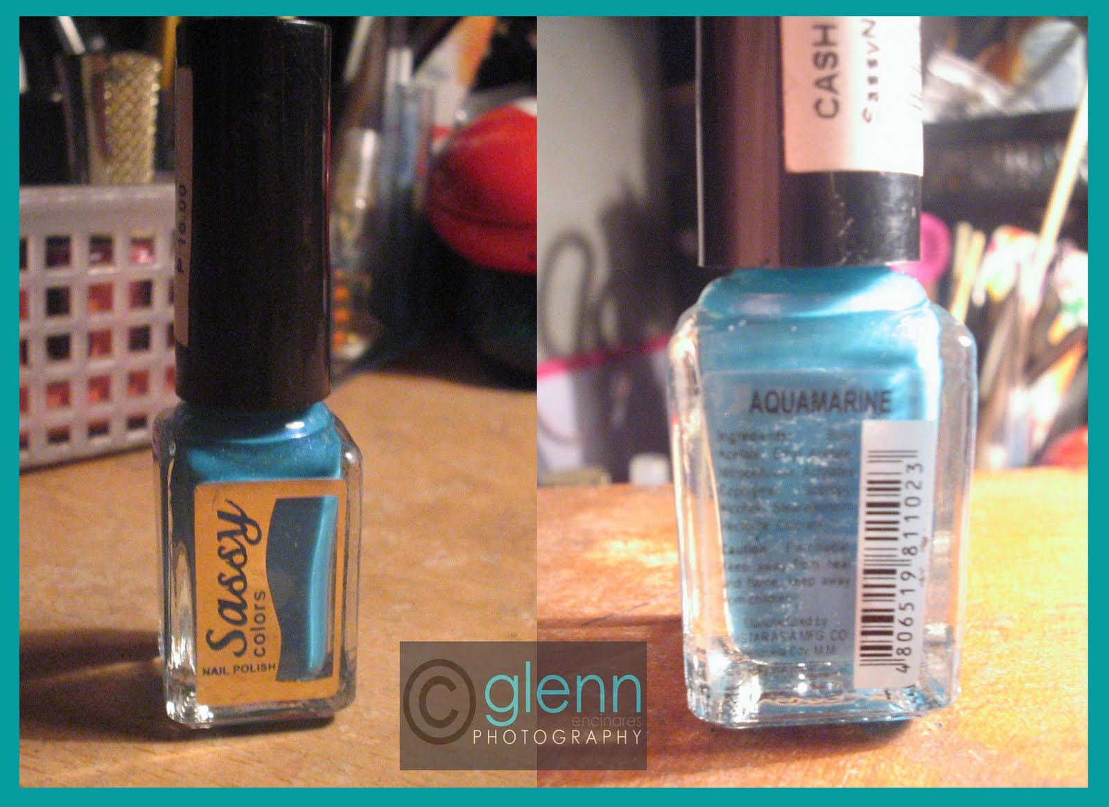 GENCIFIED: NOTD: Sassy Nail Polish in Aquamarine color