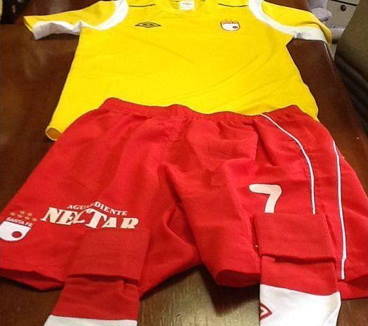 Santa Fe jugará de amarillo frente a Nacional