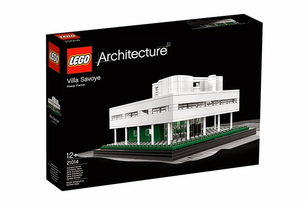 Lego Lắp Ráp Tòa Nhà Villa Savoye