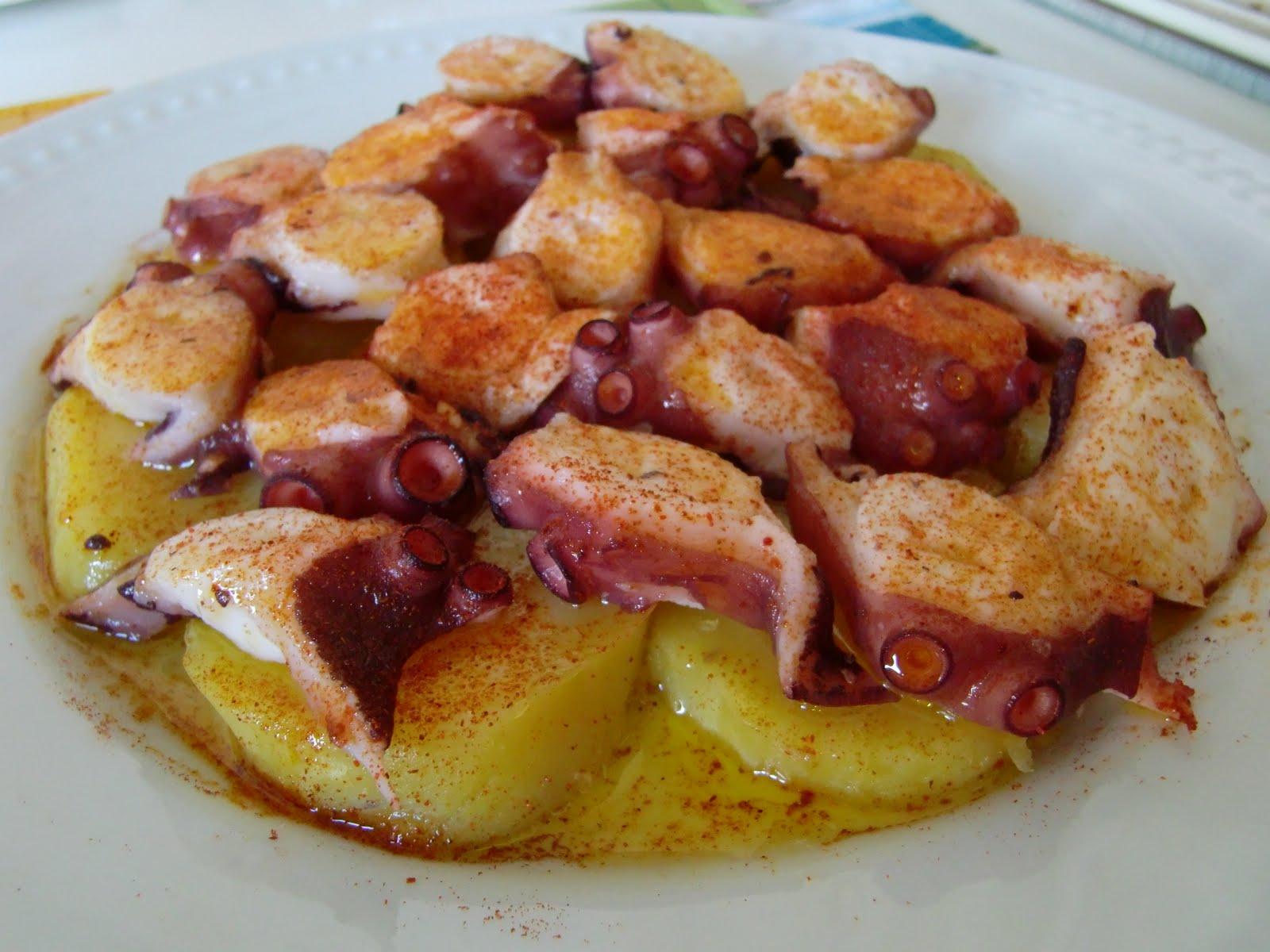 Ad ro cocinar ad ro cozinhar pulpo a la feria receta Como se cocina el pulpo