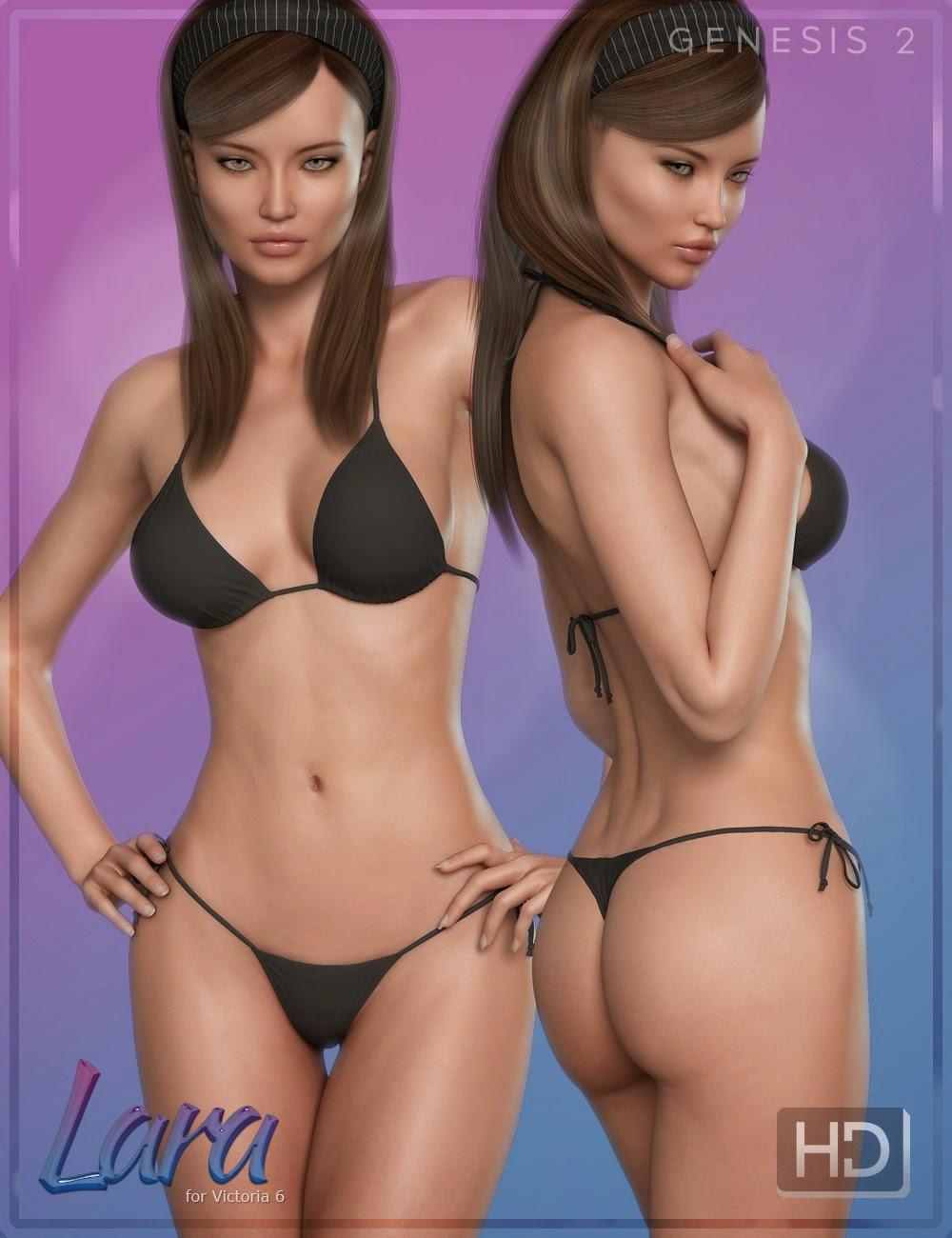 3d Models - FW Lara HD