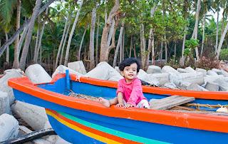 Boating at Karkarli beach
