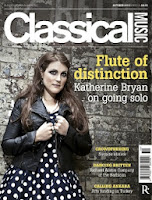 Classical Music magazine: cover October 2013