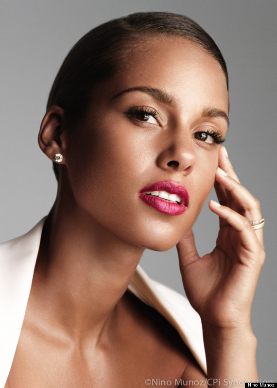 Alicia Keys Givenchy perfumes