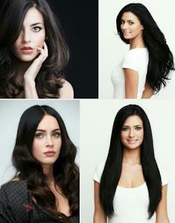 cara menghitamkan rambut alami