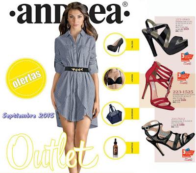 Catalogo Outlet Andrea Septiembre 2015