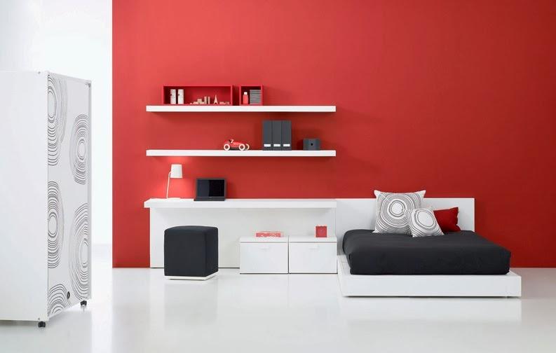 en cuanto a los muebles juveniles lo mejor es optar por introducir este color en pequeos detalles como los tiradores yo algn cajn