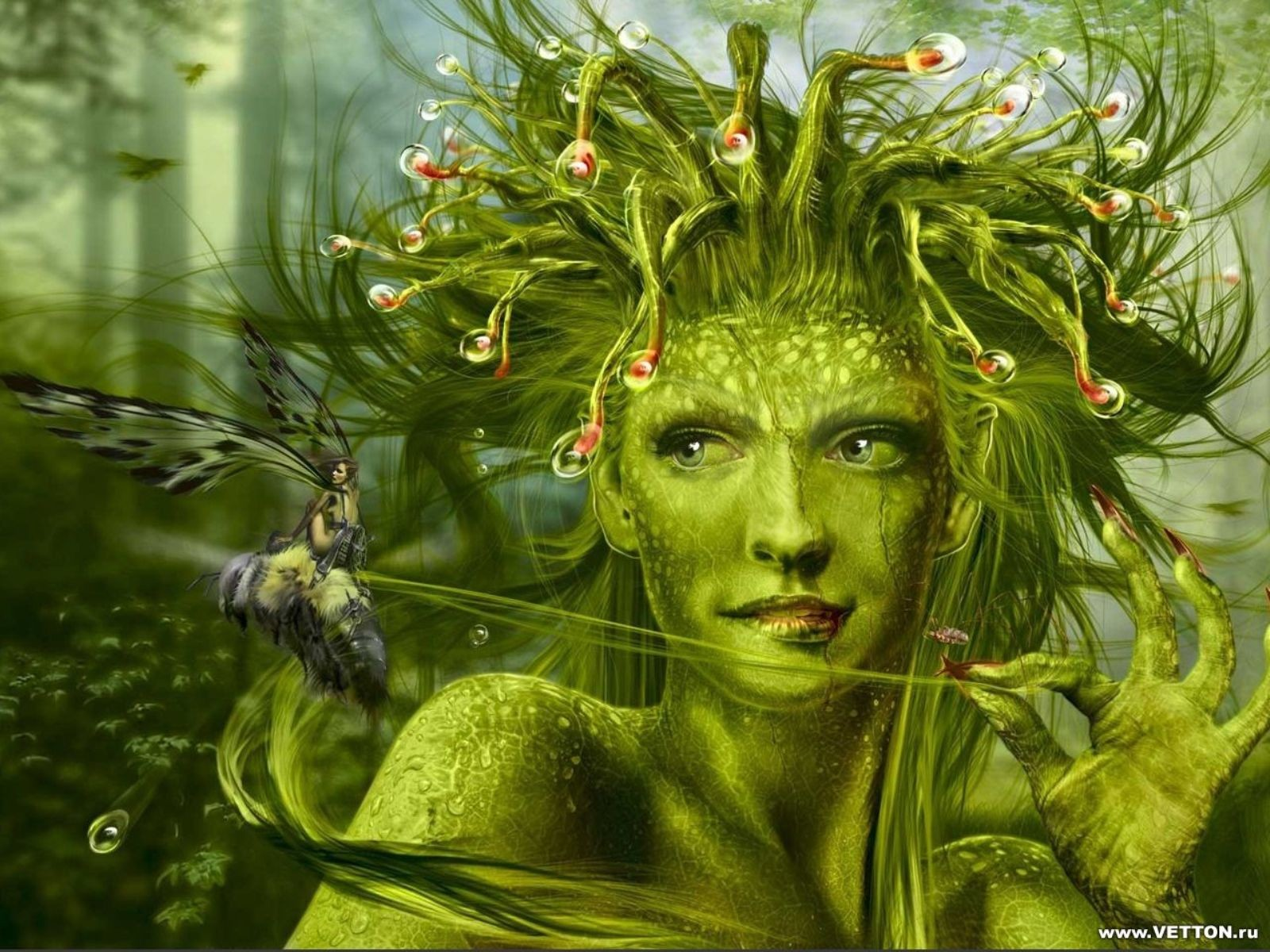 Ash Tree Nymphs Greek Mythology http://wallpapersa.blogspot.com/2012/04/nymphs.html