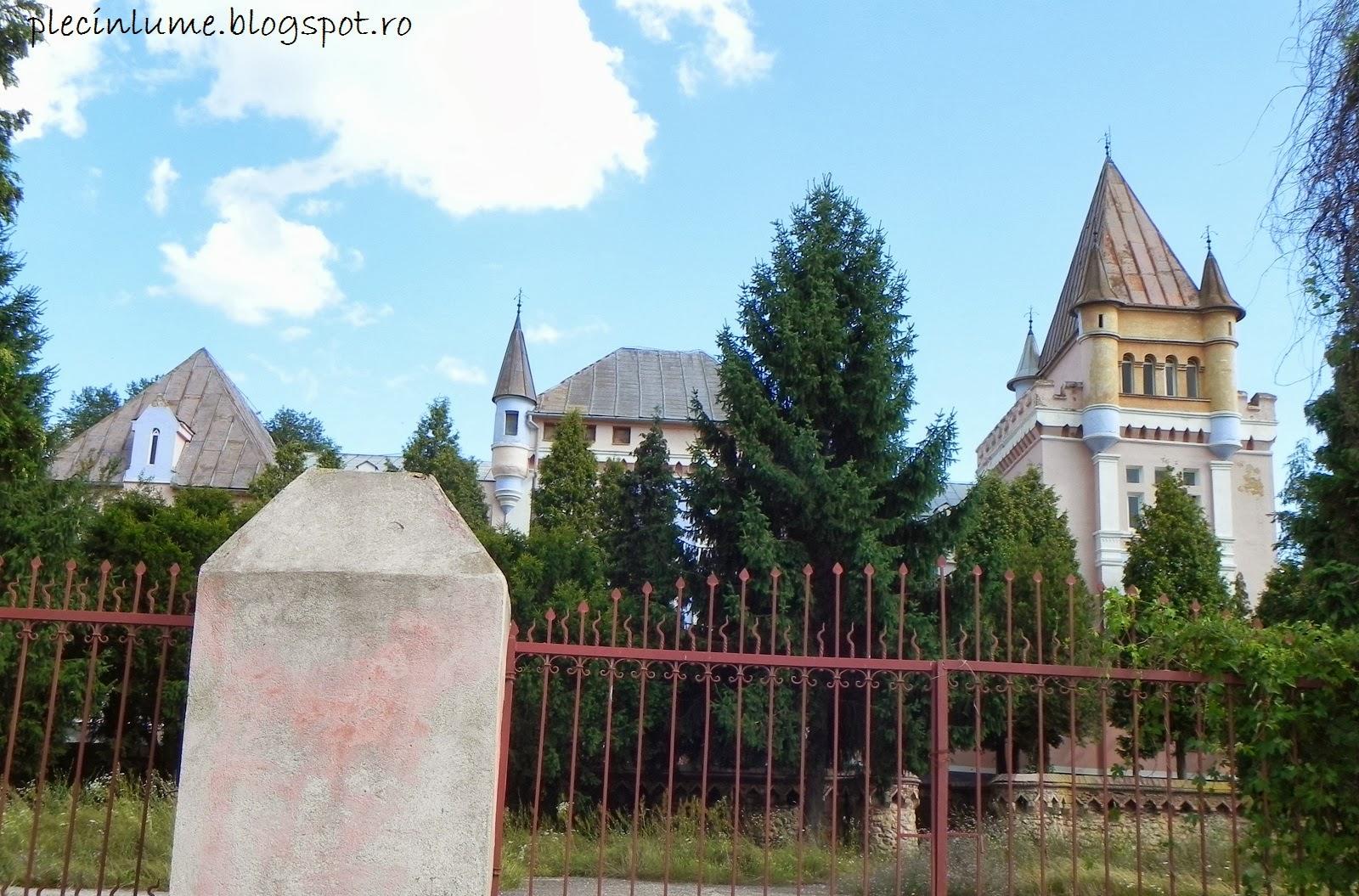 Castelul Kendeffy din Santamarie Orlea