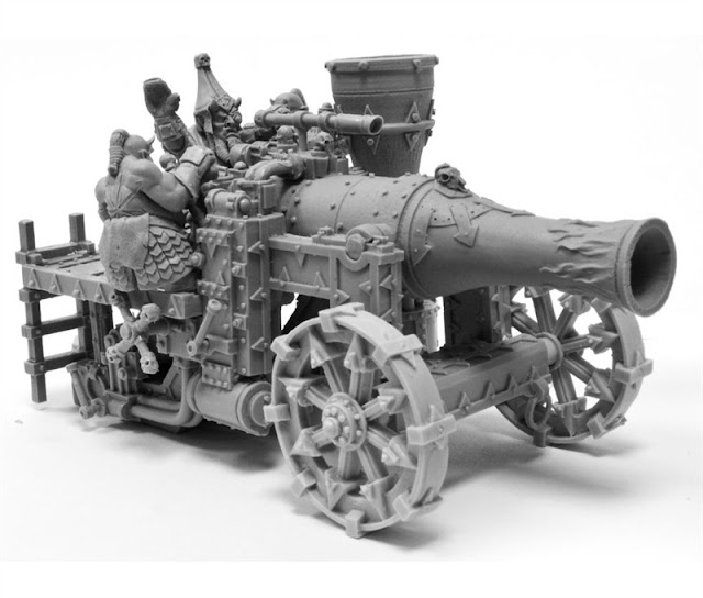 Chaos Dwarf Magma Cannon - Warhammer Forge photo