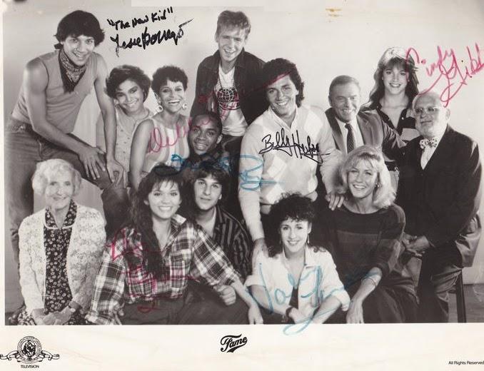 Fame Series Cast Fame Cast Autographs