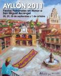 CARTEL DE FIESTAS AYLLÓN 2011