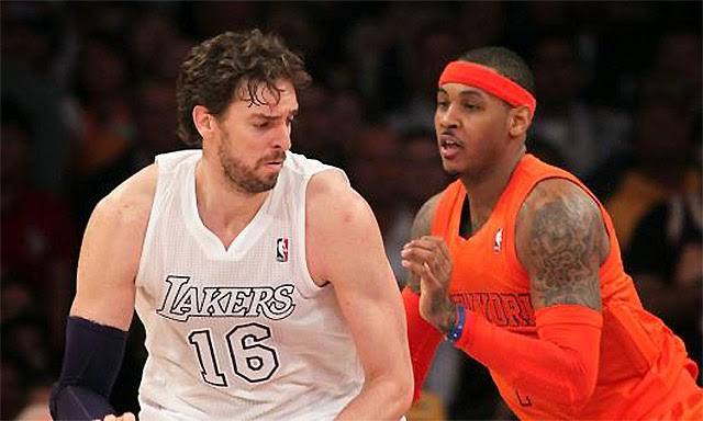 NBA Free Agency starting to heat up with Melo, and Gasol