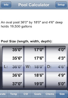 Overnightpools the new chemical balancing tool the pool calculator for How to calculate swimming pool gallons