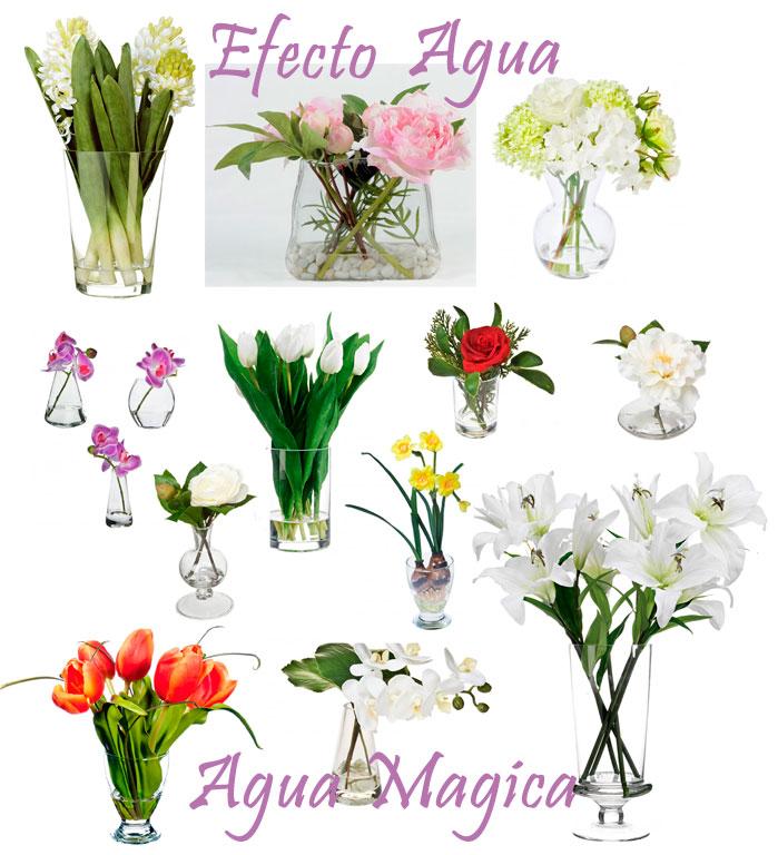 Decoraci n artico ideas y consejos con flores y plantas - Jarrones flores artificiales ...