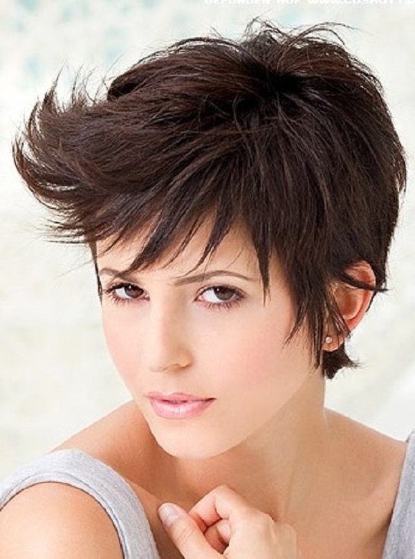The Charming Funky Curly Hairstyles For Short Hair Pics