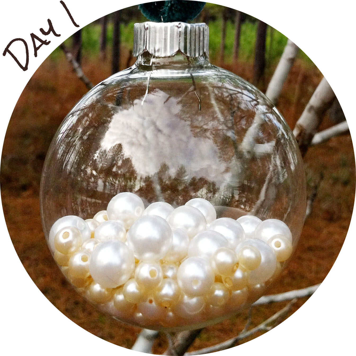Clear glass ornaments christmas lights for Clear christmas bulbs for crafting
