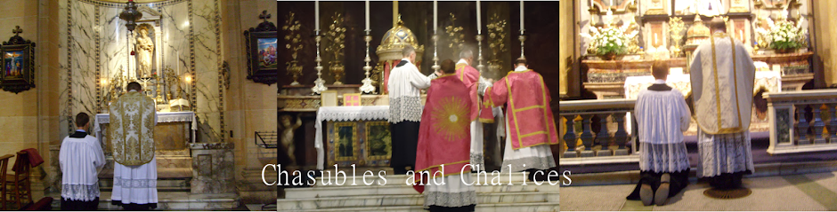 Chasubles and Chalices