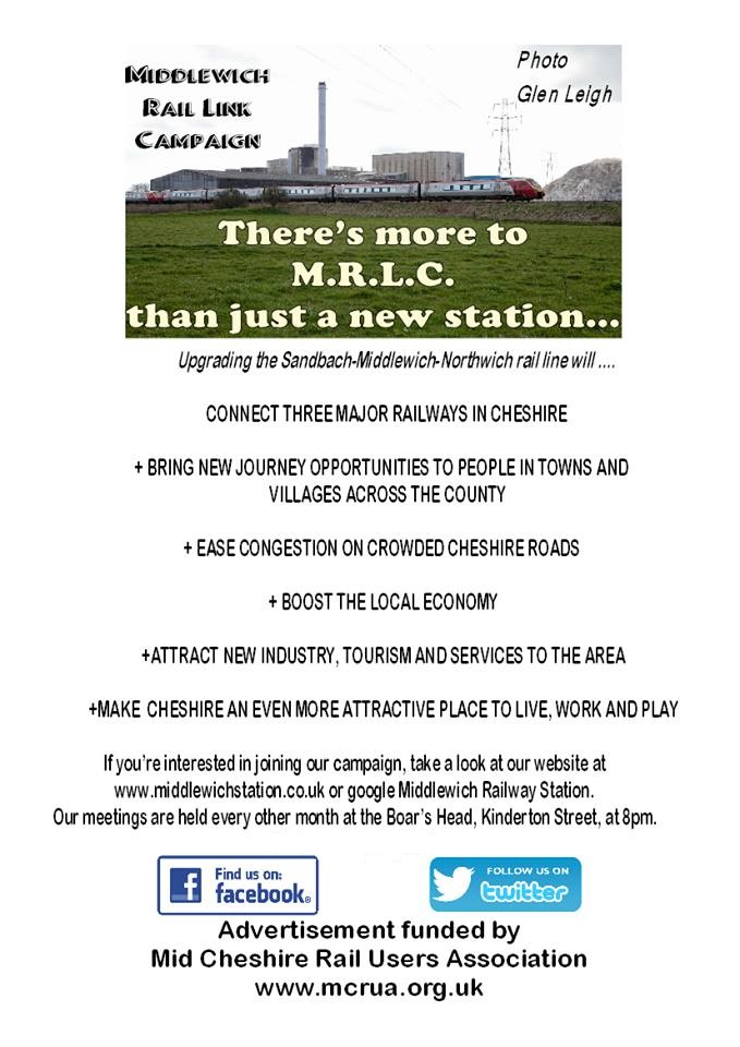 MORE THAN JUST A NEW STATION FOR MIDDLEWICH....