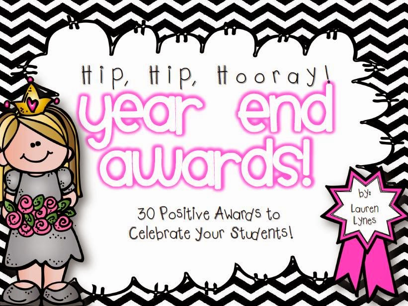http://www.teacherspayteachers.com/Product/Hip-Hip-Hooray-Year-End-Awards-675379