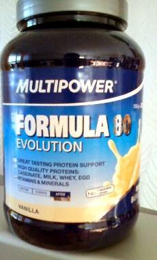 Multipower Formula 80 Evolution Vanillle