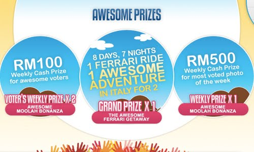 awesome prizes