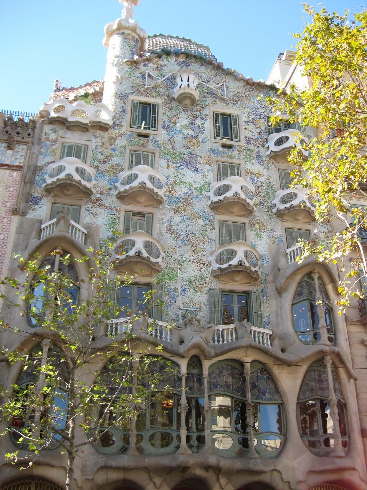 Barcelona - Gaudi's Casa Batllo