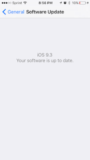 iOS 9.3 Beta Installed