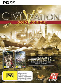 Sid Meiers Civilization V: Gold Edition With Brave New World DLC + Crack Fix V3 ALI213