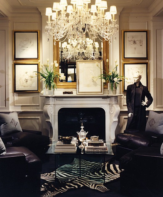 Glamour obsession american glamour by ralph lauren la for Glam interior design