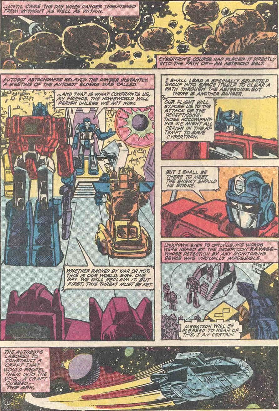 The Transformers (1984) #1 #80 - English 6
