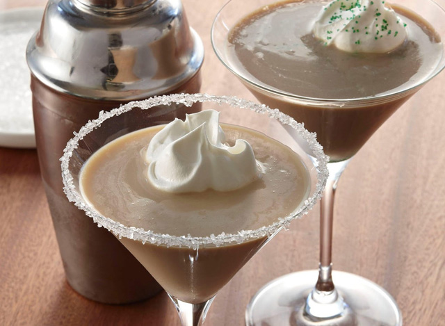 The classic hot coffee beverage is reinvented as a cool cocktail -- it's perfect for St. Patrick's Day celebrations.
