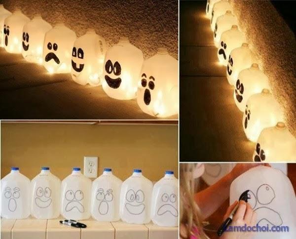 10 ý tưởng tự làm đồ trang trí và hóa trang Halloween