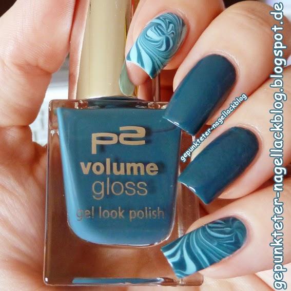 Gepunkteter-nagellackblog Lacke In Farbe ...und Bunt! - Petrol