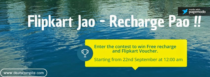 Flipkart Jao -Recharge Pao Contest