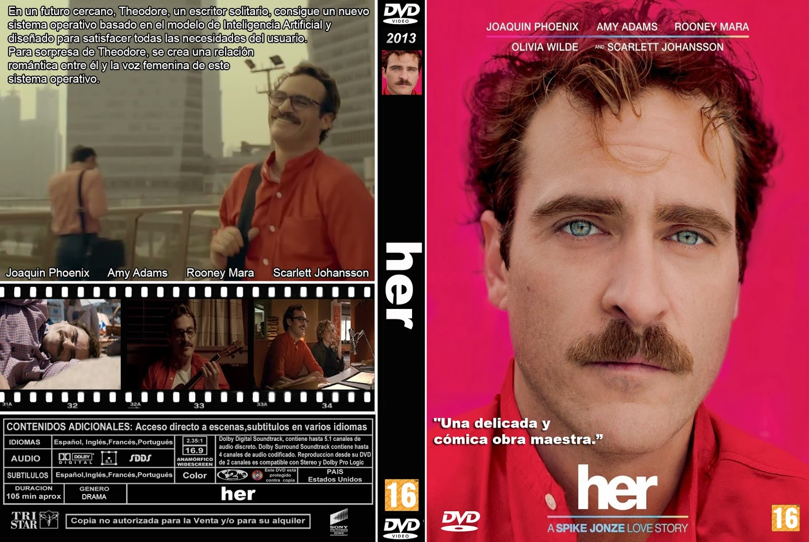 PB | DVD Cover / Caratula FREE: HER - DVD COVER 2013